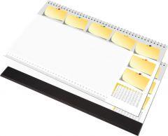 Namizna podloga z listi za zapiske