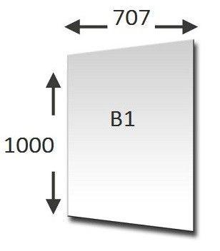 PAPIR ŠELESHAMER B1 BEL 200g