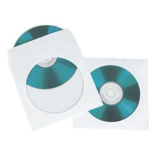 ETUI ZA CD PAPIRNAT 1/100 BEL Z OKNOM MEDIARANGE