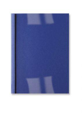 Platnice 6 mm, modre, usnje, 10 kos