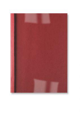 Platnice 6 mm, rdeče, usnje, 10 kos