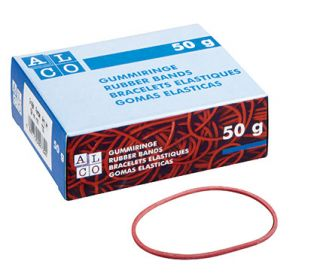 Elastike rdeče, fi 50mm, 20 g