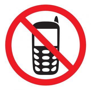 Nalepka Prepoved uporabe mob.telefona