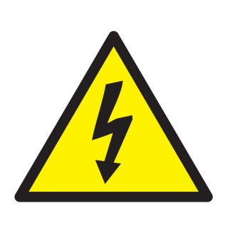 Nalepka Nevarnost elekt.udara