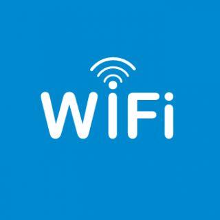 Nalepka Območje WiFi