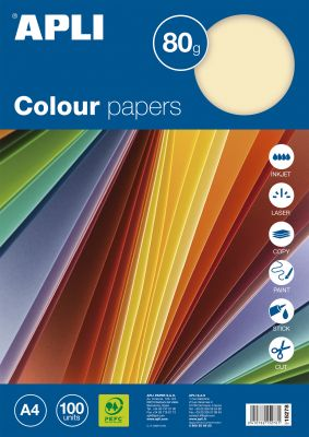 Barvni papirji, pastelne barve