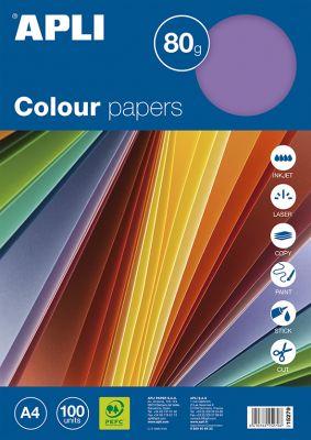 Barvni papirji, intenzivne barve