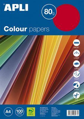 Barvni papirji, fluorescentne barve