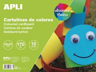 Karton 32x24 10 kos različne barve