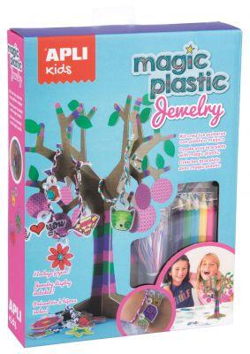 Komplet magična plastika - nakit