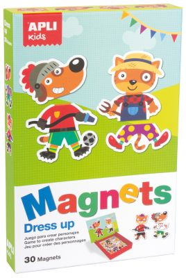 Magneti oblačenje, komplet
