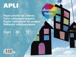 Celofanski papir 32x24 10 kos