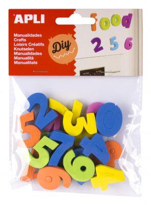 Magneti iz eva pene številke 20 kos