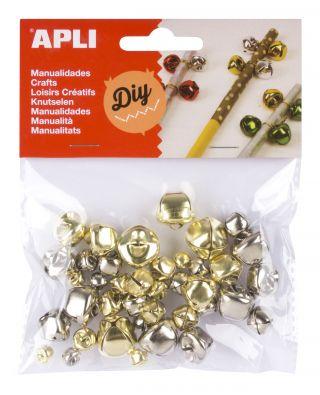 Zvončki zlati in srebrni, 40 kos