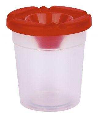 Plastičen lonček s pokrovom za barvanje