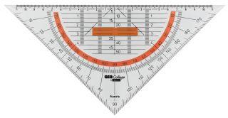 GEOCollege trikotnik z držalom 25cm