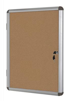 Oglasna omarica s ključem 6 x A4
