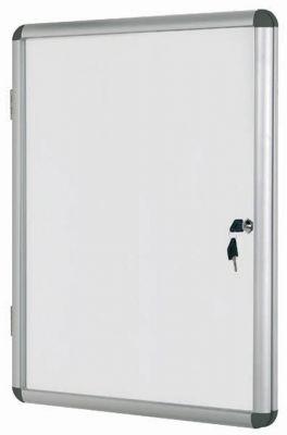 Oglasna omarica s ključem 9 x A4