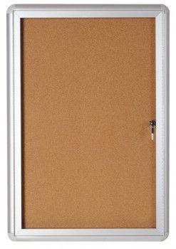 Oglasna omarica s ključem 15 x A4