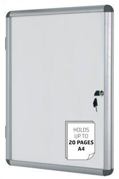 Oglasna omarica s ključem 16 x A4