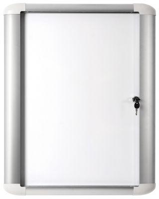 Oglasna omarica zunanja s ključem 16xA4