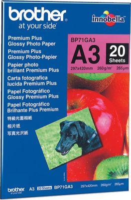 Foto papir glossy A3, 20 listov, 260g/m2