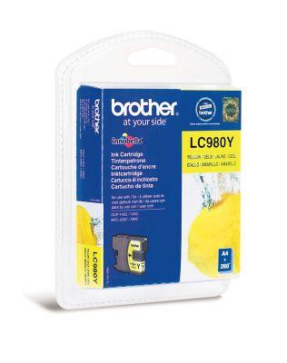 Kartuša LC980Y, yellow, 260 strani
