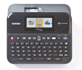 PT D600VP, tiskalnik nalepk
