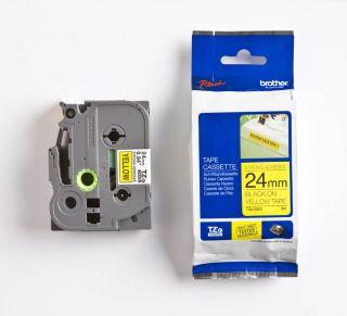 TZES651 Rumen/črn 24mm, trak za PT
