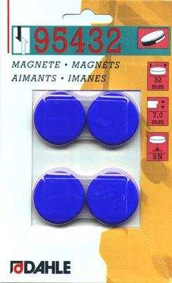 Magnet y32mm barve 4 kos