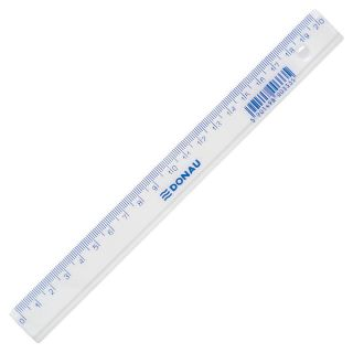 Ravnilo 20 cm prozorno