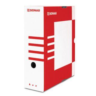 Arhivska škatla A4/100 karton rdeča