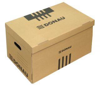 Arhivska škatla za 6 registr. rjava