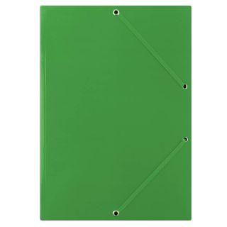 Mapa z elastiko A4 karton, zelena