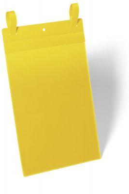 Žepki z vezicami A4 pokončni rumeni