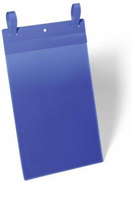 Žepki z vezicami A4 pokončni modri
