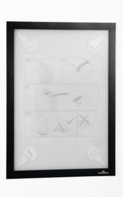 Okvir DURAFRAME WALLPAPER A4, črn