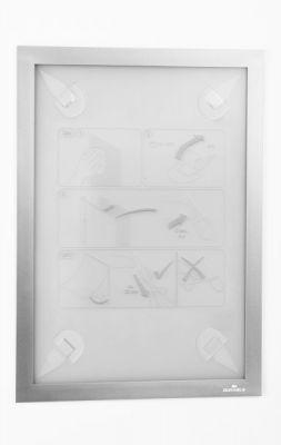Okvir DURAFRAME WALLPAPER A4, srebrn