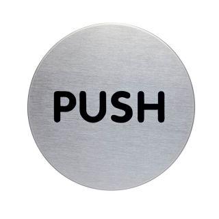 Piktogram - PUSH, fi 56mm (4900)