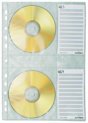 Vložne mape za CD A4 (5222), 5 kos
