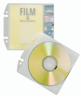 Vložne mape Easy za CD/DVD(5223), 10 kos