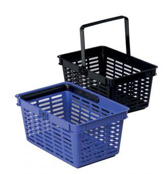 Nakupovalna košara 19l modra