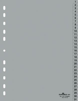 Ločilni listi A4 1-31 (6523)