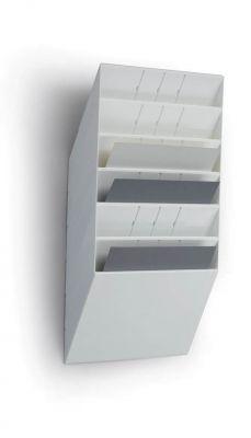 Flexiboxx stenski 6 A4 ležeč bel