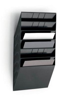 Flexiboxx stenski 6 A4 ležeč črn