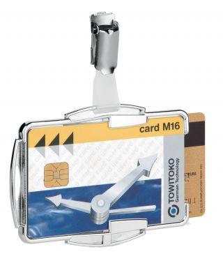 Nosilec za 2 magn.kartici (RFID zaščita)