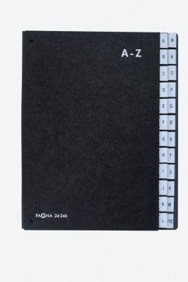 Podpisna mapa, 24-delna, A-Z