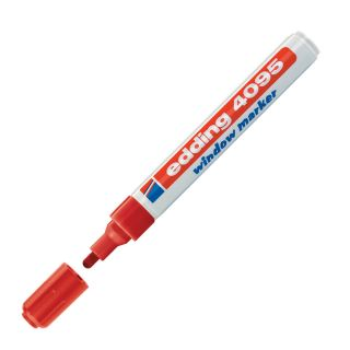 Marker kredni E-4095, 2-3 mm, rdeč
