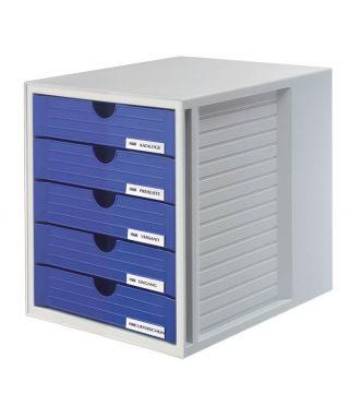 Predalnik SYSTEM BOX zaprt, moder