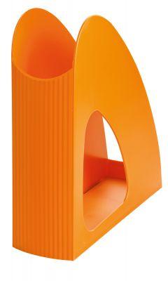 Stojalo za revije LOOP, oranžno